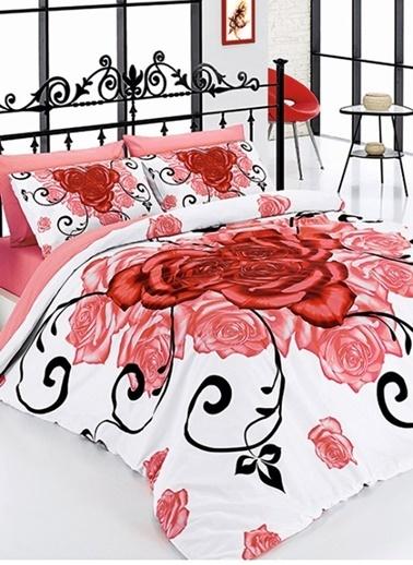 Belenay Çift Kişilik Uyku Seti Kırmızı